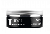 MEDAVITA Black Idol Net Firm Style Fiber Paste, 50ml