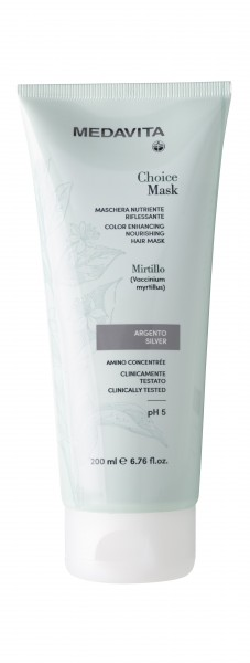 MEDAVITA Choice color silber hair mask, 200ml