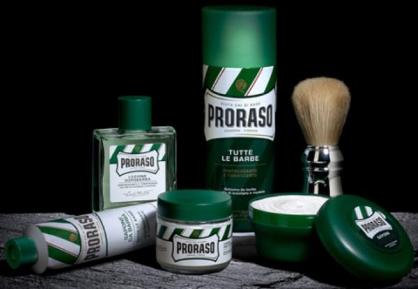 PRORASO Shaving Cream Green Refresh, 500ml