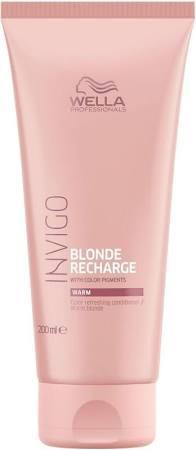 WELLA Invigo Blond Recharge Warm Blonde Conditioner, 200ml