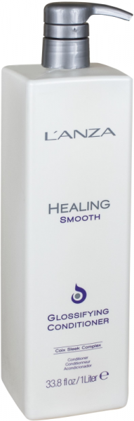 LANZA Healing Smooth Glossifying Conditioner, 1000ml