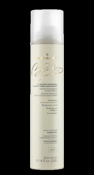 MEDAVITA Blondie ICE Blonde Enhancing Conditioning Hair Mousse, 300ml
