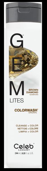 Celeb LUXURY GEM LITES Colorwash Brown Diamond, 22ml