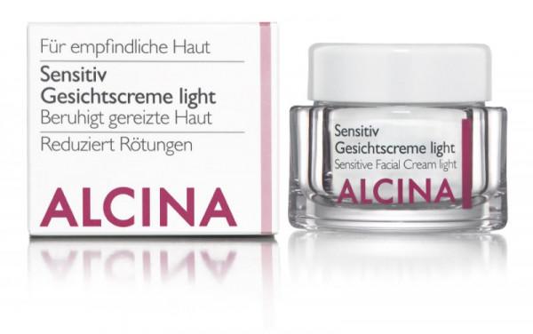 ALCINA Sensitiv Gesichtscreme light, 50ml