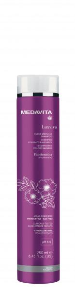 MEDAVITA Luxviva Color Enricher Shampoo Silver, 250ml