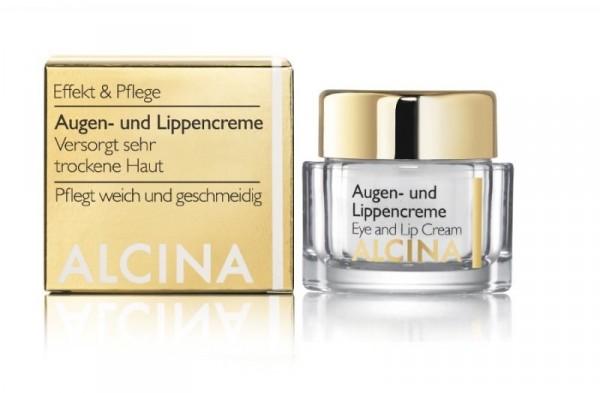 ALCINA Augen-und Lippencreme, 15ml