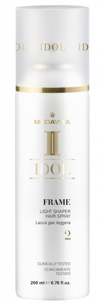 MEDAVITA IDOL Texture Frame Light Shaper Hair Spray, 200ml