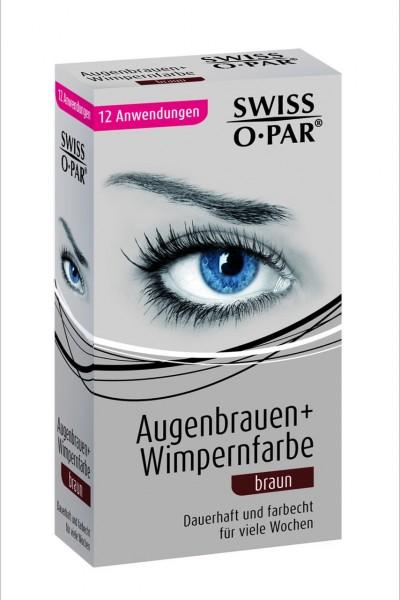 PROFILINE Set Augenbrauen + Wimpernfarbe, braun