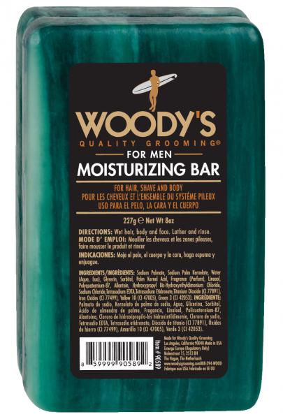 WOODY´S Moisturizing Bar, 227g