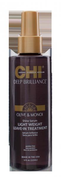 CHI Deep Brillance Leave-In Shine Serum, 15ml