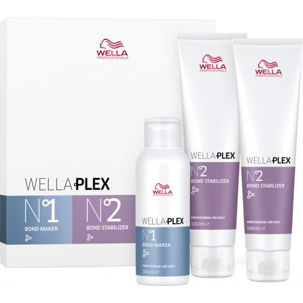 WELLA WellaPLEX Travel Kit No.1 & No.2, je 100ml