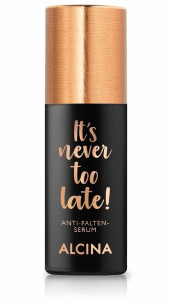 ALCINA It´s never too late Anti-Falten-Serum, 30ml