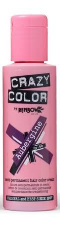 CRAZY COLOR 50 Aubergine, 100ml
