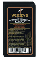 WOODY´S Black Charcoal Soap, 227g