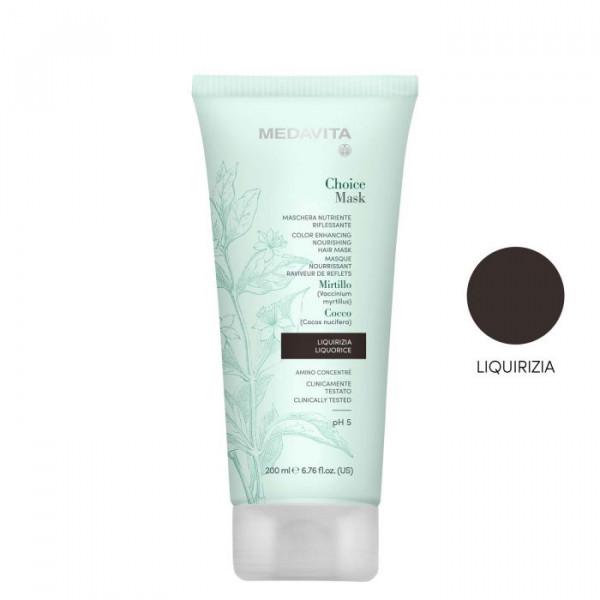 MEDAVITA Choice Color Hair Mask Lakritze, 200ml