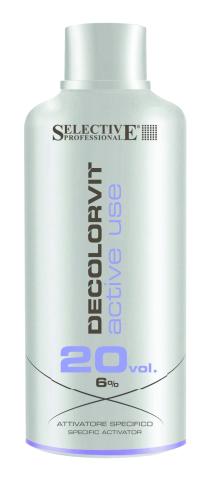 SELECTIVE Decolorvit 6% 20 Vol. Active Use Oxydant, 750ml