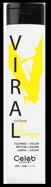 Celeb LUXURY Viral Colorwash Extreme Yellow, 244ml