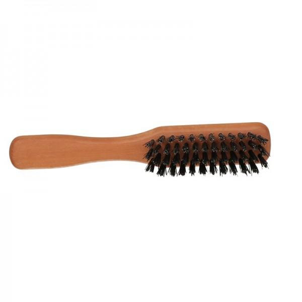 Friseur Produkte24 - 1o1 Barbers Bartbürste klein mit Griff, 4-reihig