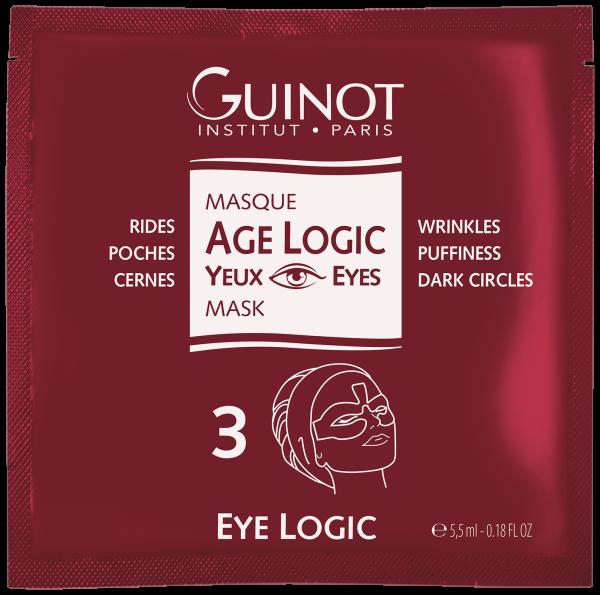 GUINOT Masque Yeux Age Logic, Box mit 4 Sachets