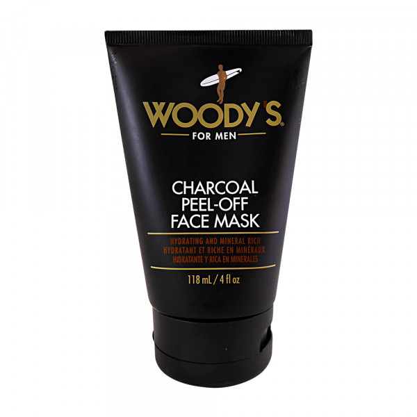 WOODY´S Black Charcoal Peel-Off Black Mask, 118ml
