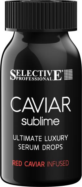 SELECTIVE Caviar Serum Drops 6 x 10 ml + Luxury Shampoo 250 ml