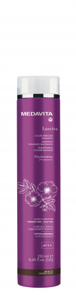 MEDAVITA Luxviva Color Enricher Shampoo Brunette, 250ml