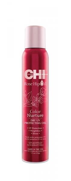 CHI Rose Hip Oil Dry UV Protecting Oil, 150g