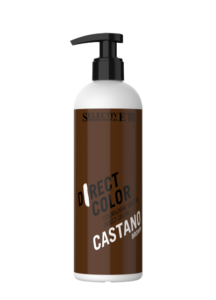SELECTIVE DIRECT COLOR direktziehender Farbconditioner, castano-mittelbraun, 300ml