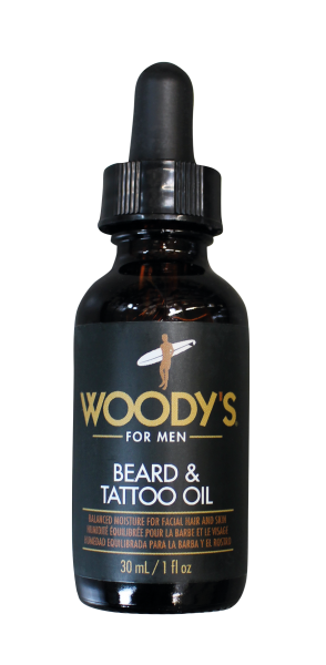 WOODY´S Beard & Tatoo Oil, 30ml