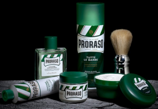 PRORASO Shaving Foam Green Refresh, 50ml