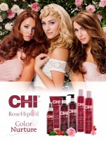 Vorschau: CHI Rose Hip Oil Protecting Shampoo, 340ml