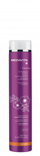 MEDAVITA Luxviva Color Enricher Shampoo Golden Copper, 250ml