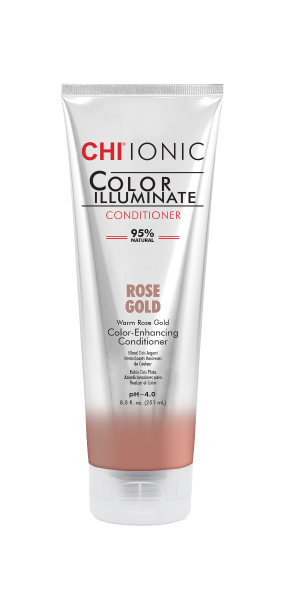 CHI IONIC Color Illuminate Conditioner Rose Gold, 251ml