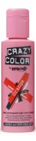 CRAZY COLOR 60 Orange, Semipermanente Creme Haarfarbe, 100ml