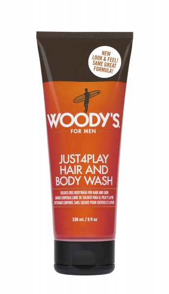 WOODY´S Just4Play Body Wash, 236ml