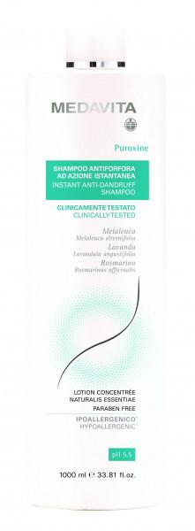 MEDAVITA Puroxine Instant Anti-Dandruff Shampoo, 1L