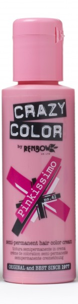 CRAZY COLOR 42 Pinkissimo, 100ml