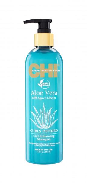 CHI Aloe Vera Curl Enhancing Shampoo, 340ml