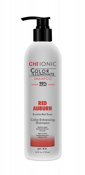 CHI IONIC Color Illuminate Shampoo Red Auburn, 739ml