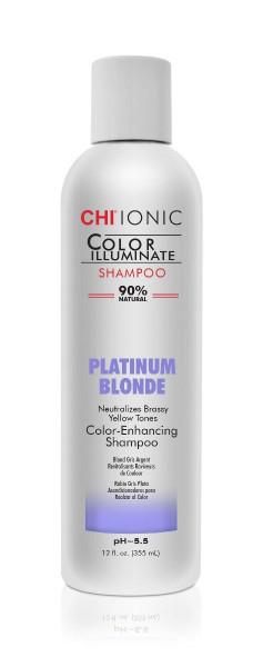 CHI IONIC Color Illuminate Shampoo Platinum Blonde, 355ml