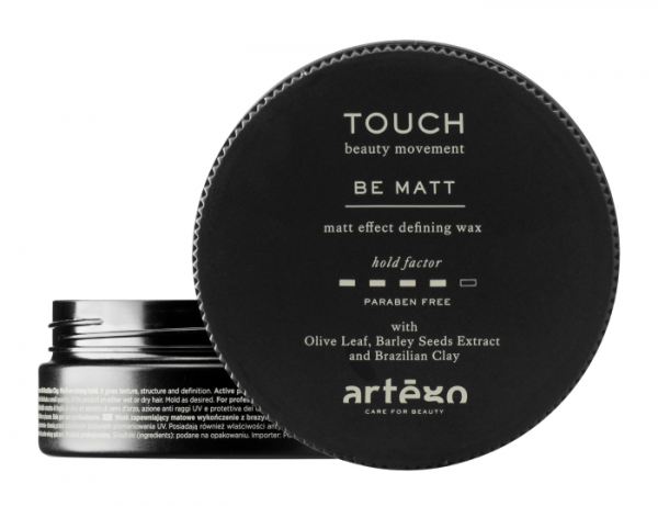 ARTEGO TOUCH Be Matt Effect Defining Wax, 100ml