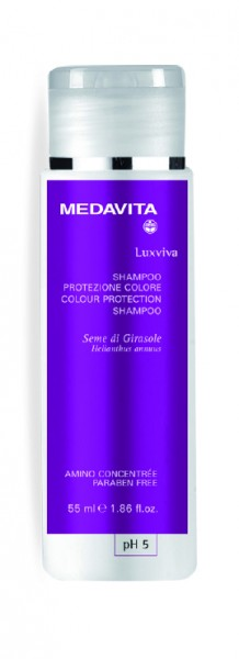 MEDAVITA Luxviva Colour Protection Shampoo, 55 ml