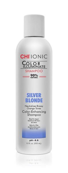 CHI IONIC Color Illuminate Shampoo Silver Blonde, 355ml