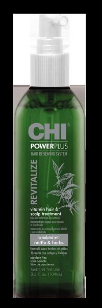 CHI Power Plus Revitalize Vitamin Hair & Scalp Treatment, 104ml