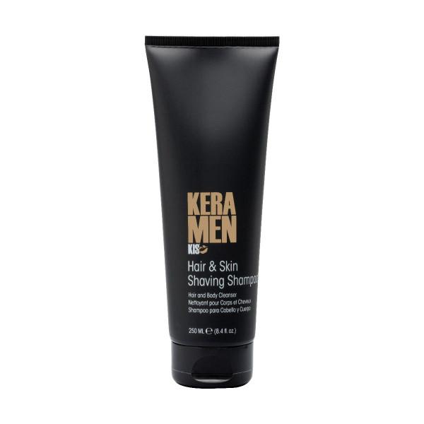 KIS KeraMen Hair and Skin Shaving Shampoo, 250ml