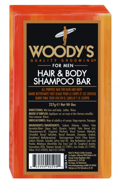 Friseur Produkte24 Woody´s Hair & Body Shampoo Bar