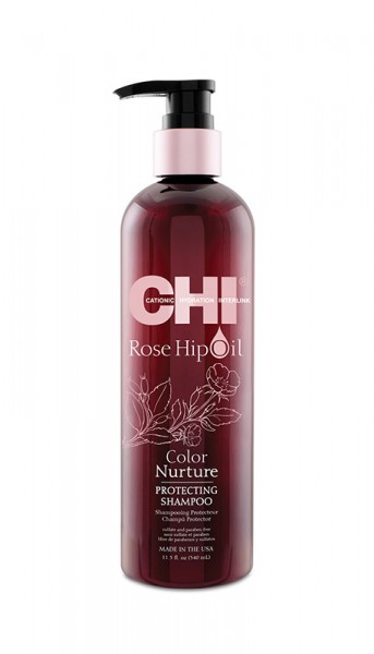 CHI Rose Hip Oil Protecting Shampoo, 340ml