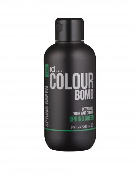 idHAIR Colour Bomb Spring Green 722, 250ml