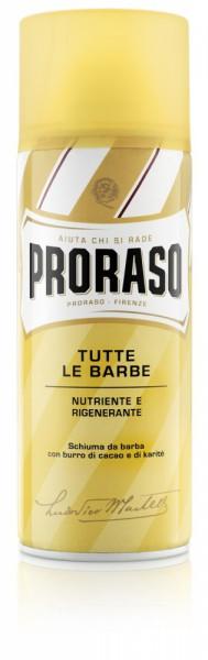Friseur Produkte24 , Proraso Rasierschaum Nutriente Burro 400ml
