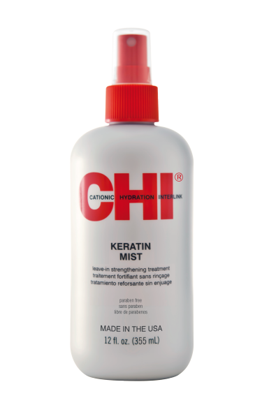 CHI Keratin Mist Leave-In Strengthening Treatment, 355ml